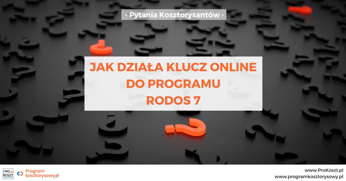 Klucz online do programu Rodos 7