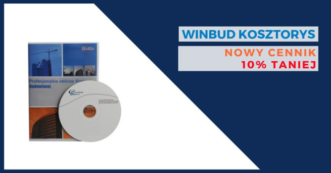 Nowe ceny programu WINBUD Kosztorys już dostępne